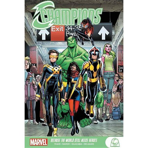 Champions: Because the World Still Needs Heroes - (Paperback) - image 1 of 1