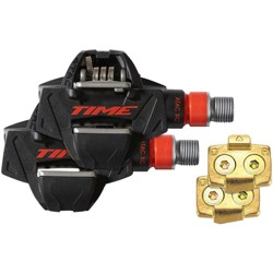 "Time ATAC XC 4 Pedals Dual Sided Clipless Composite 9//16/"" Black"