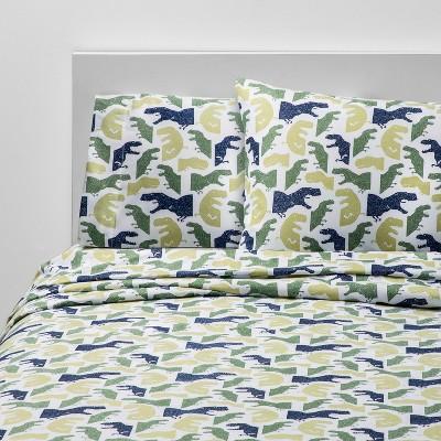 4pc Queen Colossal Chomp Microfiber Sheet Set - Pillowfort™
