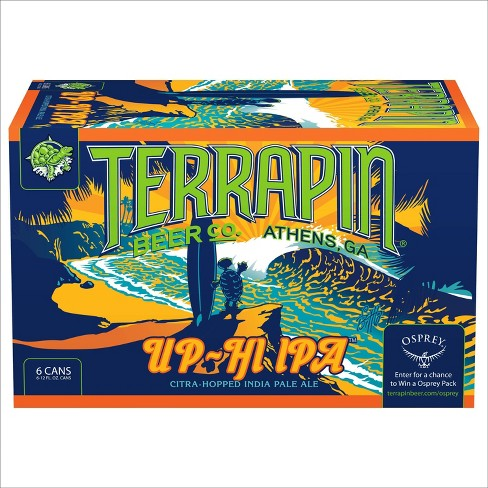 Terrapin Up-Hi California Style IPA Beer - 6pk/12 fl oz Cans - image 1 of 4