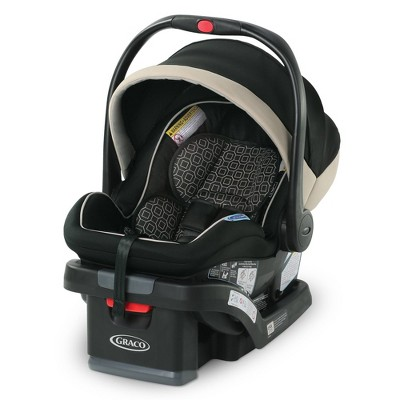 Graco SnugRide SnugLock 35 LX Featuring 1-Hand Adjust Infant Car Seat - Pierce
