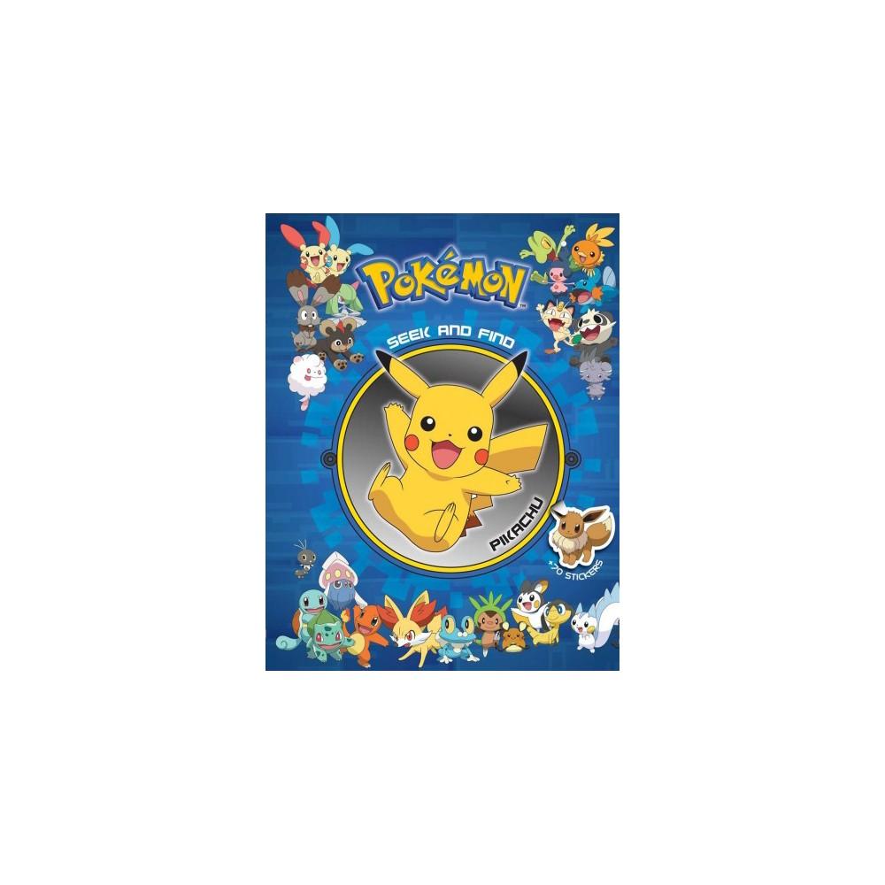 Pokemon Seek and Find Pikachu - (Pokemon Seek and Find) (Hardcover) Pokemon Seek and Find Pikachu - (Pokemon Seek and Find) (Hardcover)