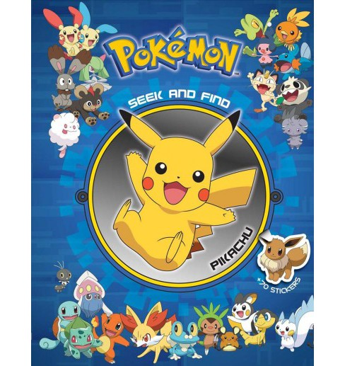 Pokemon Seek and Find Pikachu -  (Pokemon Seek and Find) (Hardcover) - image 1 of 1