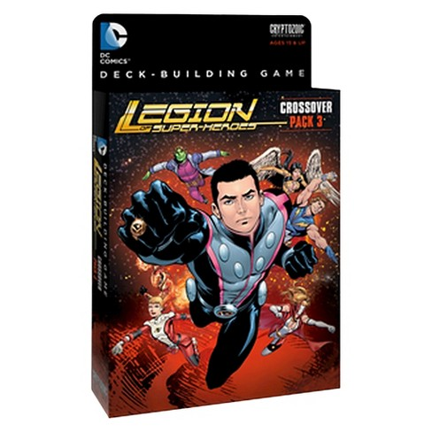 DC Comics Legion of Superheroes Crossover Pack 3 Deck-Building Game - image 1 of 1