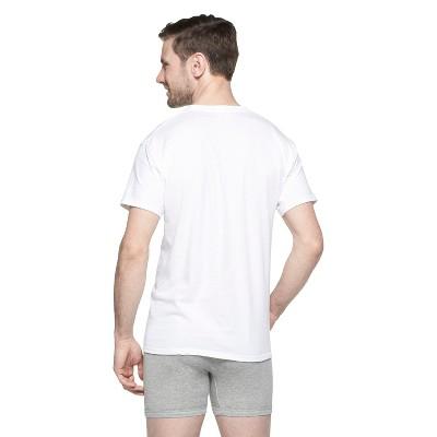 Hanes Men's 5pk Crew Neck T-Shirts With Fresh IQ - XXL- White, Size: 2XL