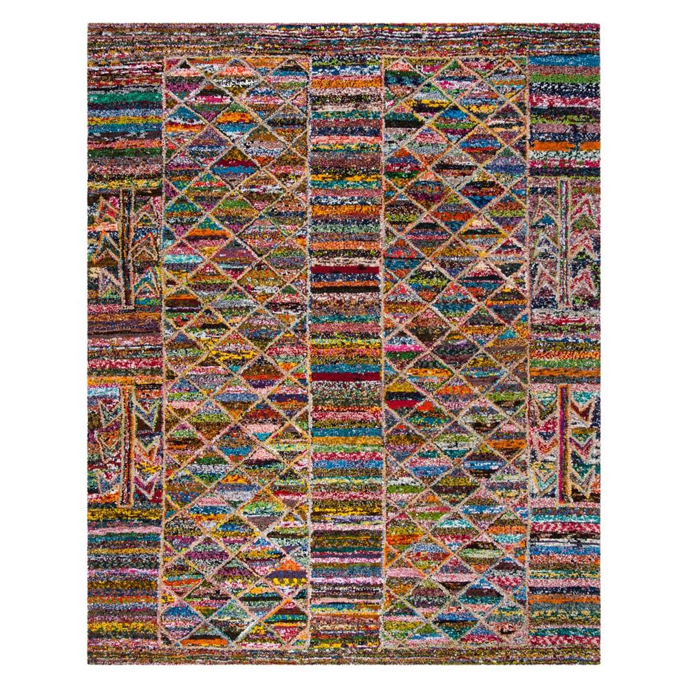 8'X10' Geometric Tufted Area Rug - Safavieh, Multicolored