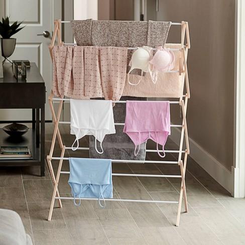 Household Essentials Mega Wood Drying Rack - image 1 of 2