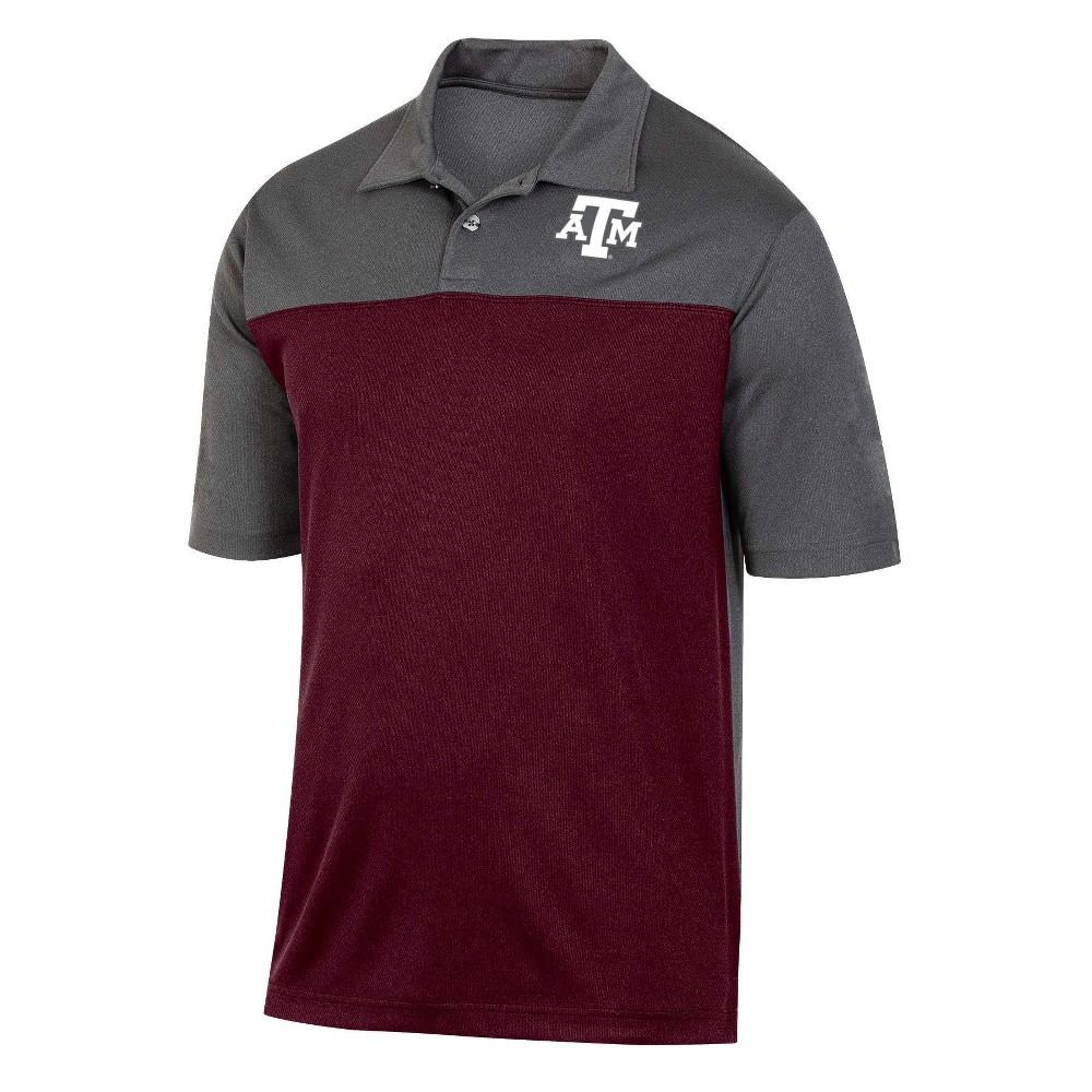 Ncaa Texas A 38 M Aggies Men 39 S Short Sleeve Polo Shirt M