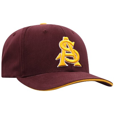 NCAA Arizona State Sun Devils Men's Reality Structured Brushed Cotton Hat