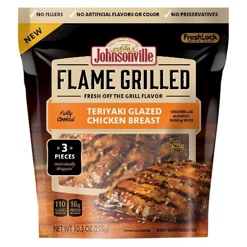 Johnsonville Teriyaki Flame Grilled Chicken - 10.5oz - image 1 of 1