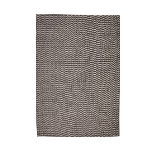 Abacasa Metro Rian Charcoal-Grey-Ivory 5x8 Area Rug - Sam's International - image 1 of 3