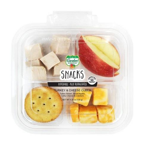 Fresh Garden Highway Turkey & Cheese Cubes - 4.25oz - image 1 of 2