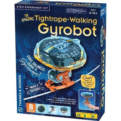 Thames & Kosmos Amazing Tightrope Walking Gyrobot Science Kit
