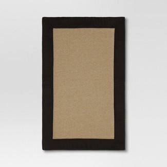 "Black Home Border Memory Foam Mat (20""x32"") - Mohawk Home - Threshold™"