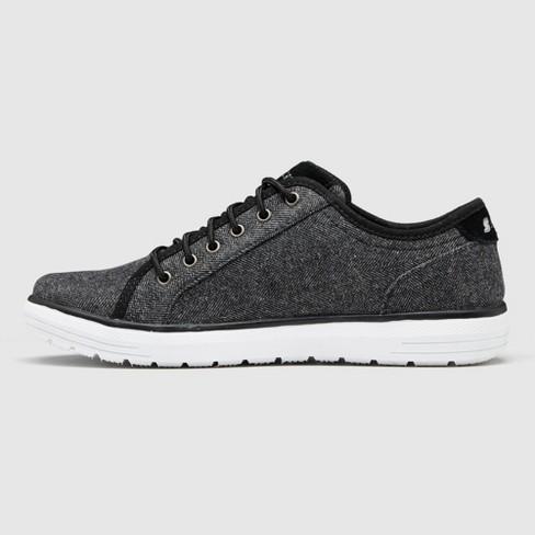 6ce318429e3bf Men's S Sport By Skechers Nico Herringbone Sneakers - Charcoal : Target