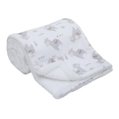 NoJo Mama's Little Llama Baby Blanket