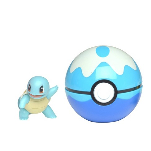 Pokemon Squirtle Clip 'N Go Dive Ball - image 1 of 2
