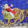 "Christmas 8.0"" Santa & Reindeer Fly Over Advent Calendar Sleigh German  -  Advent Calendar - image 3 of 3"