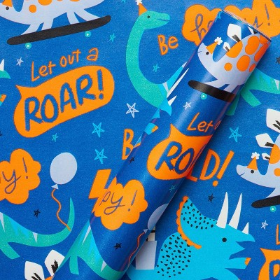 Dinosaur Kids' Wrapping Paper - Spritz™