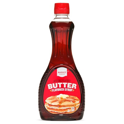 Butter Flavored Pancake Syrup - 24 fl oz - Market Pantry™