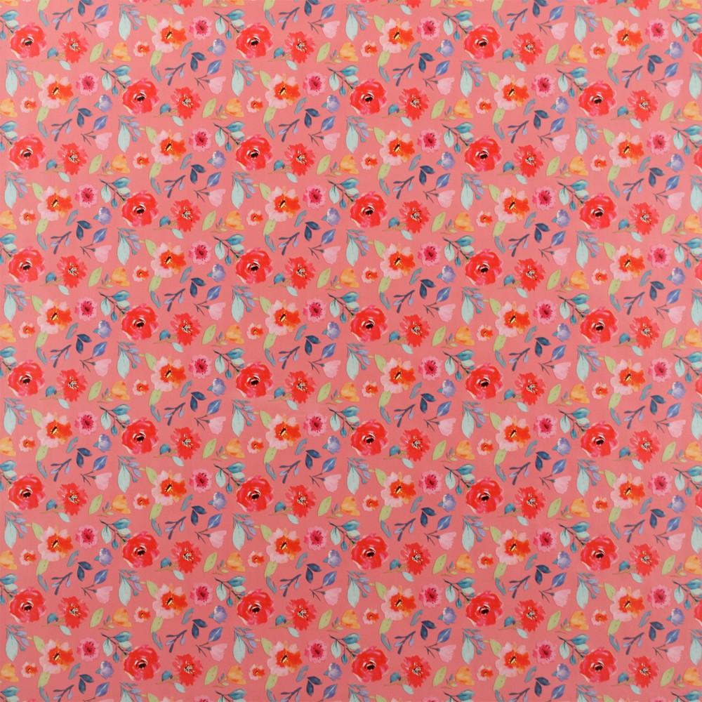 Image of Fem Floral Gift Wrap - Spritz