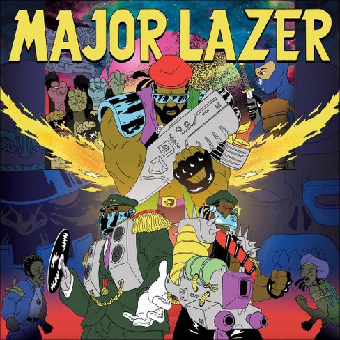 Major lazer - Free the universe (CD) - image 1 of 1