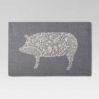 Charmant Kitchen Rug Pig   Threshold™