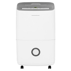 Frigidaire 30 Pint Dehumidifier with Humidity Control White/Gray