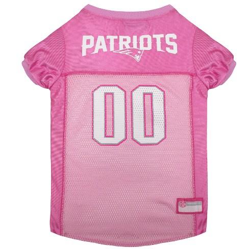 8e96153a0 NFL Pets First Pink Pet Football Jersey - New England Patriots   Target