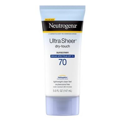 Neutrogena Ultra Sheer Sunscreen Lotion - SPF 70 - 5 fl oz