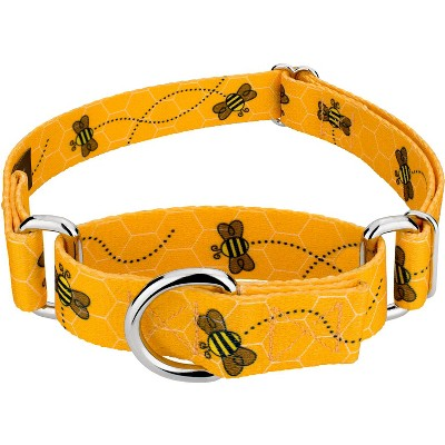 Country Brook Design® Busy Bee Martingale Dog Collar