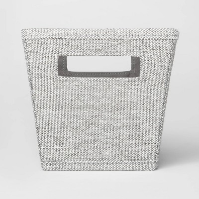 Fabric Quarter Bin Gray - Threshold™