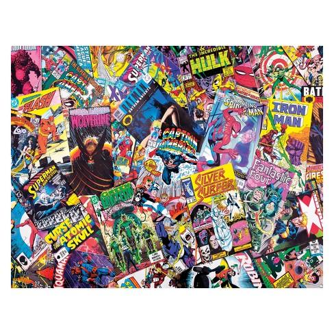 Springbok Comic Books Galore Puzzle 1000pc - image 1 of 1