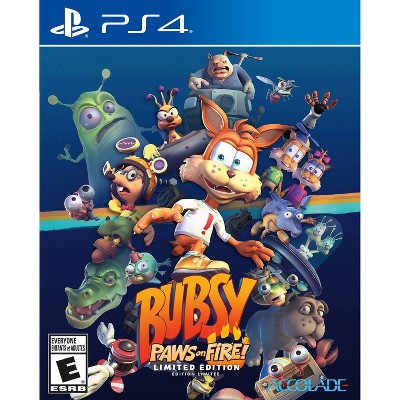 Bubsy: Paws on Fire! Limited Edition - PlayStation 4
