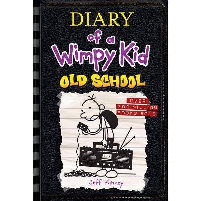 Wimpy Kid Old School 10 - by Jeff Kinney (Hardcover)