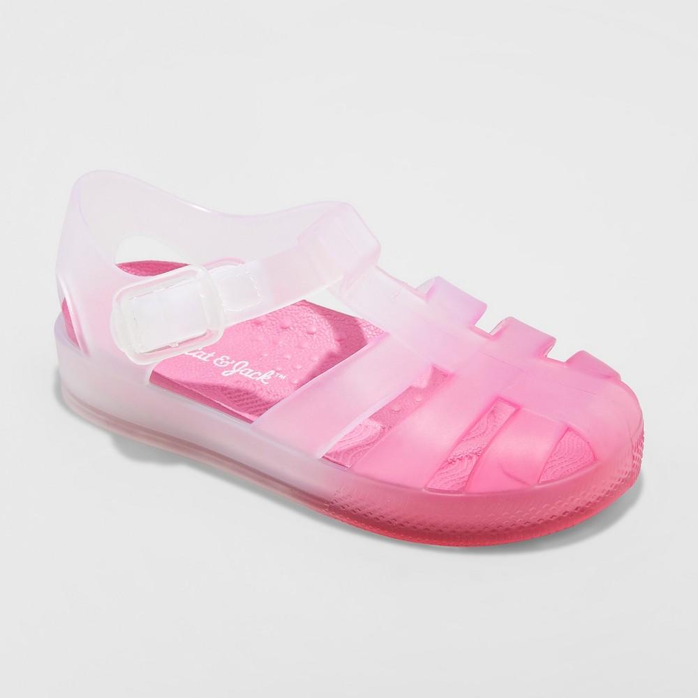 Toddler Girls' Kalare Jelly Sandals - Cat & Jack Pink 12
