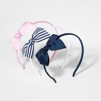 Girls' 3pk Bow Headbands - Cat & Jack™
