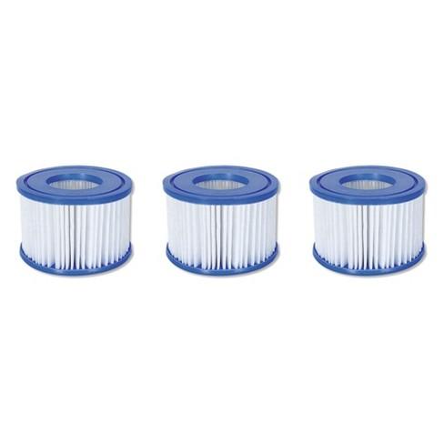 Coleman SaluSpa Swimming Pool Filter Pump Type VI Replacement Cartridge (3 Pack) - image 1 of 4