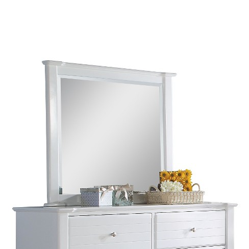 Mallowsea Kids Dresser Mirror - White - Acme - image 1 of 3