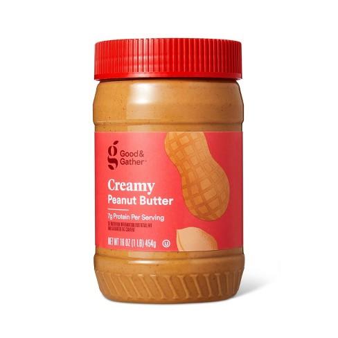Creamy Peanut Butter 16oz - Good & Gather™ - image 1 of 2