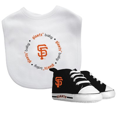 San Francisco Giants Bib & Prewalker Gift Set