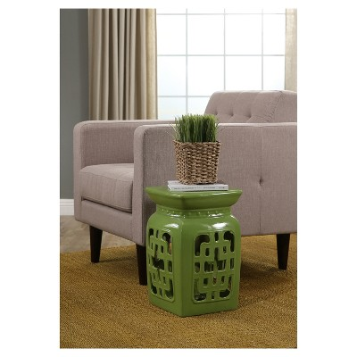 Delicieux Leyla Ceramic Garden Stool   Lime Green   Abbyson Living : Target