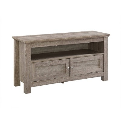 """2 Component Door Console TV Stand for TVs up to 50"""" - Saracina Home"""