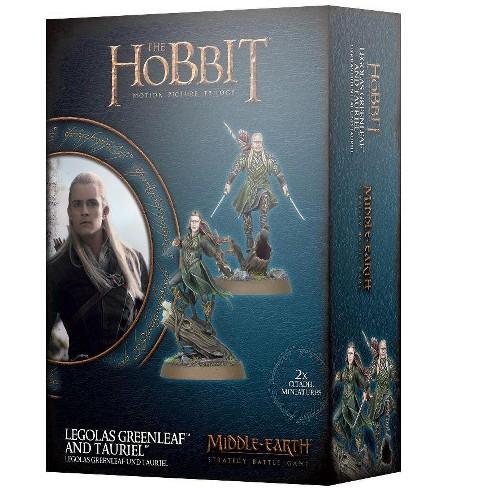 Legolas Greenleaf and Tauriel Miniatures Box Set - image 1 of 1