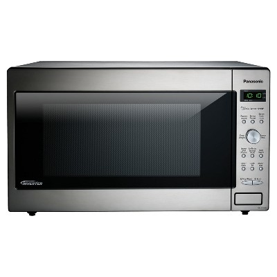 Panasonic 2.2 cu ft Stainless Microwave, 1250 watts NN-SD945S