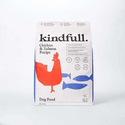 Chicken and Salmon Recipe Dry Dog Food - Kindfull™