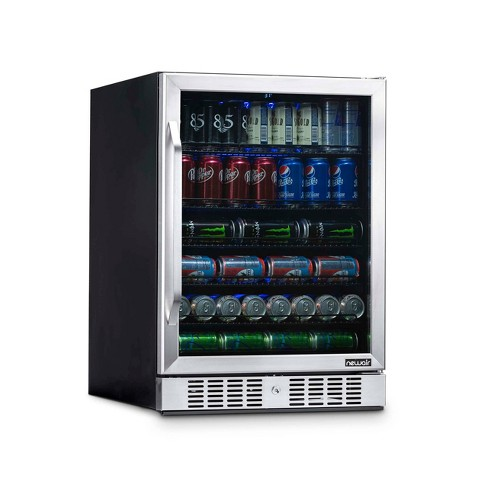 NewAir 177 Can Beverage Cooler - Stainless Steel ABR-1770 - image 1 of 4