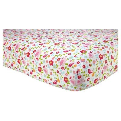 Sadie & Scout® Fitted Crib Sheet - Chelsea - Floral