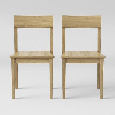 2pc Chair Natural - Made By Design™
