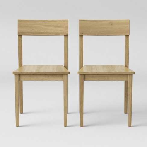 2pc Chair Natural - Made By Design?  - Made By Design™ - image 1 of 4